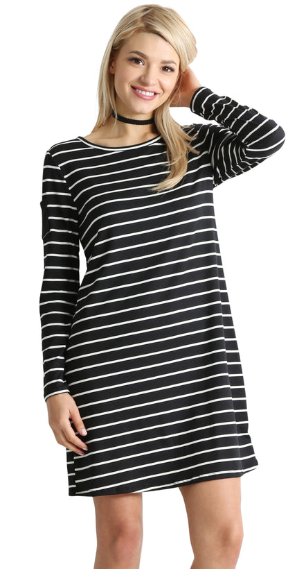 black ivory stripe