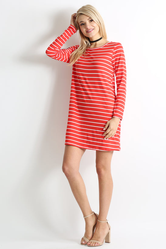 red ivory stripe