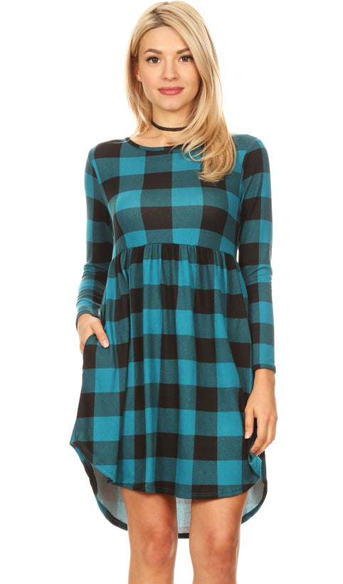 Teal Plaid