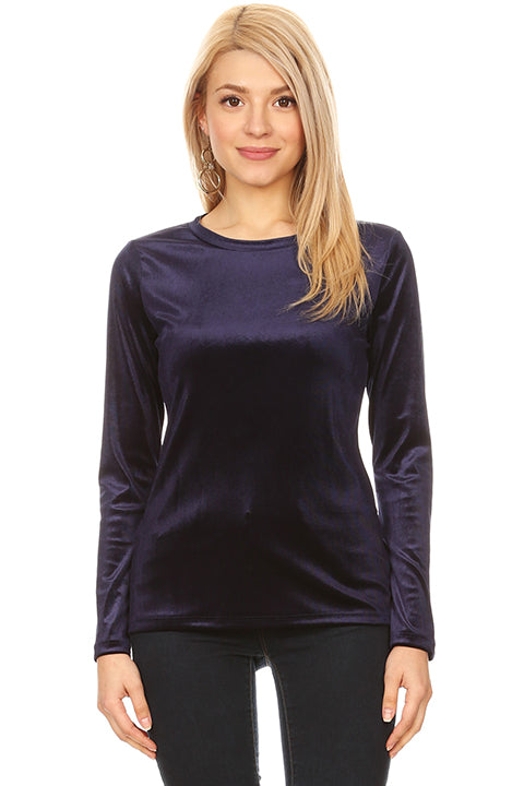 Veer to Velvet Crew Top