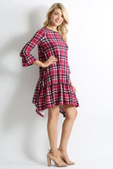 Load image into Gallery viewer, pink plaid