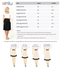Load image into Gallery viewer, Comfort In Casual Stretch Skirt