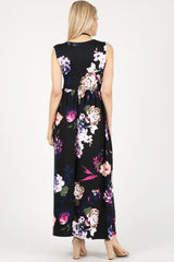 Load image into Gallery viewer, floral black/navy/pink
