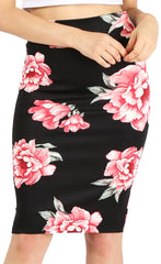 Load image into Gallery viewer, Slay All Day Plus Size Scuba Skirt