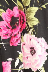 Load image into Gallery viewer, black pink floral