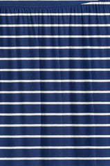 Load image into Gallery viewer, navy stripe ankle-length
