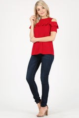 Load image into Gallery viewer, red/short sleeve