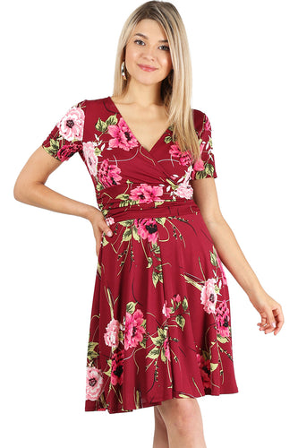 Step It up Swing Dress