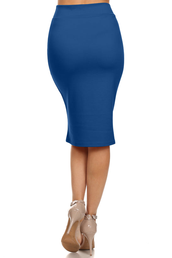 Hold It Tight Office Pencil Skirt