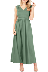 Load image into Gallery viewer, Wrap the Trends Maxi Dress