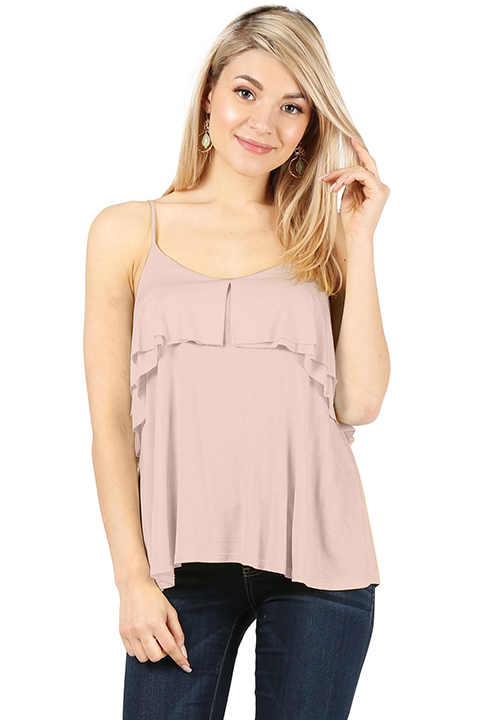Falling for Ruffles Top