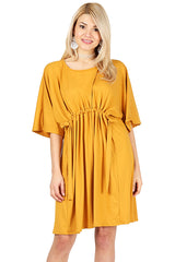 Load image into Gallery viewer, Drape with Dolman Casual Dress