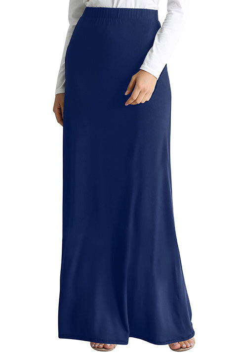Comfort in Solids Maxi Skirt