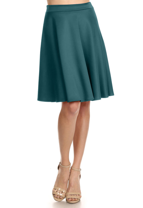 DON'T CARE FLARE SKIRT