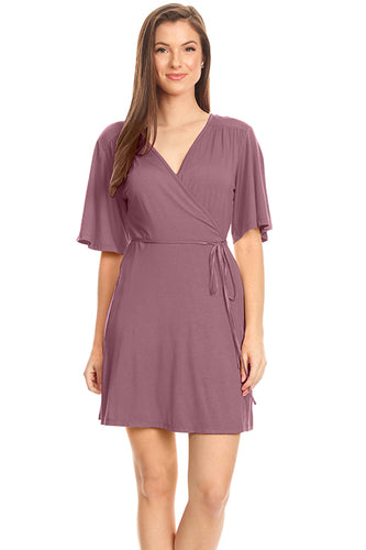 Dare To Wear Flare Wrap Dress