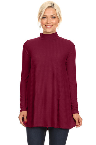 Flow and Flair Turtle Neck Tunic