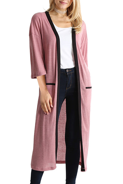 Ease Up Maxi Cardigan