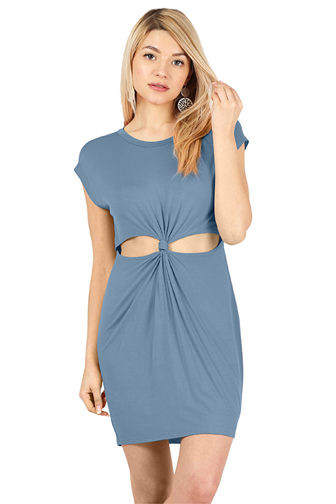 Tie the Knot Cutout Dress