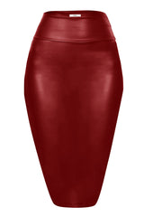 Load image into Gallery viewer, Rock Chick Faux Leather Skirt
