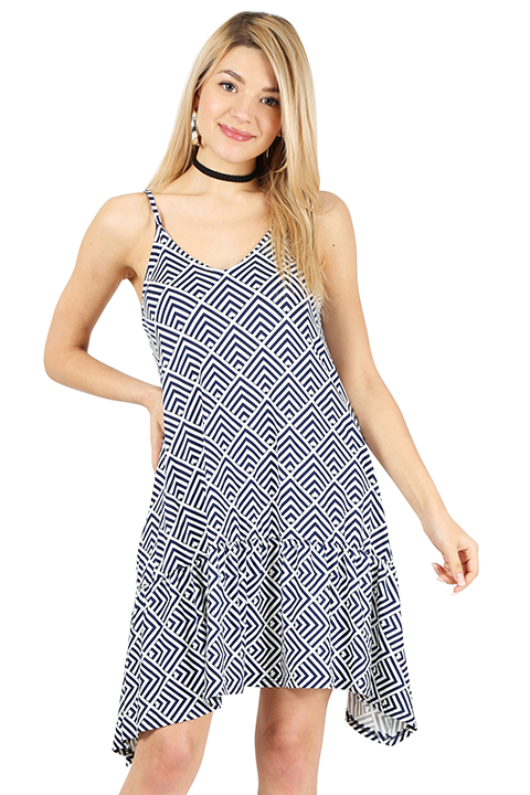 Call It High-Low Boho Dress