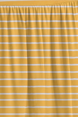 Load image into Gallery viewer, mustard/ivory stripe ankle-length