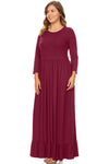 FLOUNCE MAXI DRESS