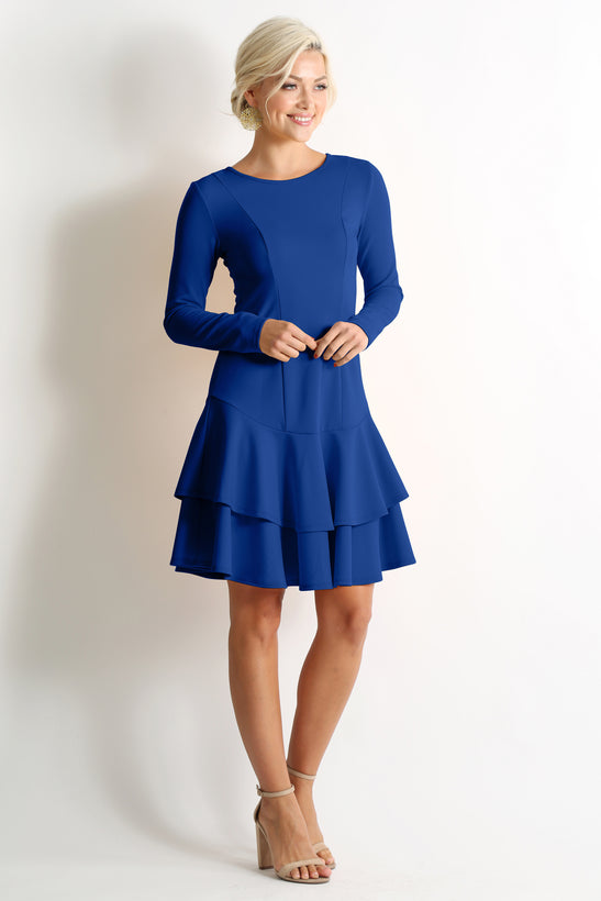 Classy Redefined Ruffle Dress