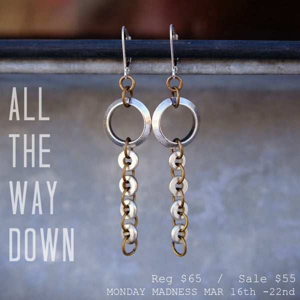 Monday Madness: All The Way Down Earrings