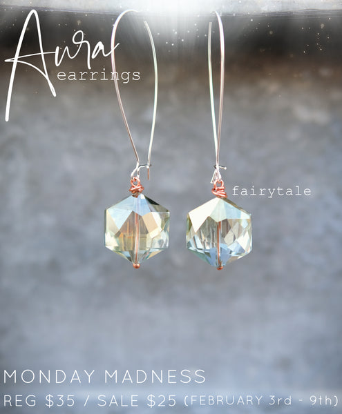 Monday Madness: Aura Earrings