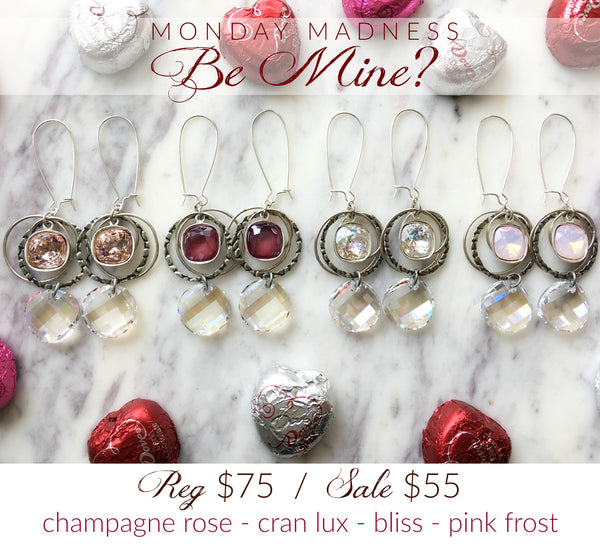 Monday Madness: Be Mine Earrings