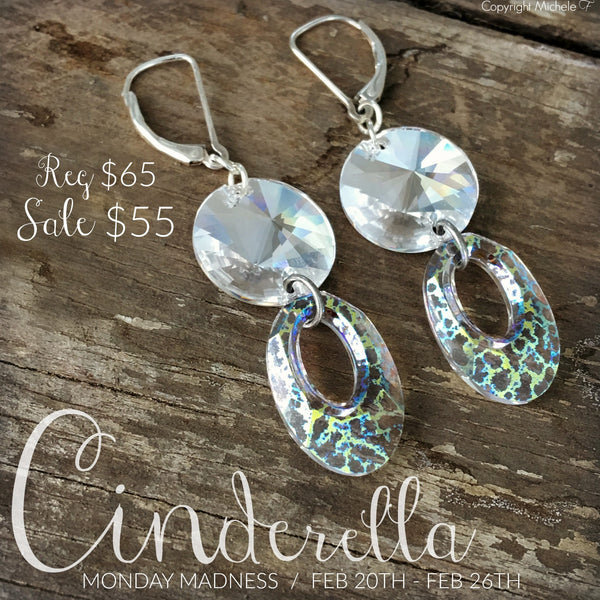 Monday Madness, The Cinderella Earrings
