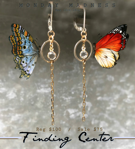 Monday Madness: Finding Center Earrings