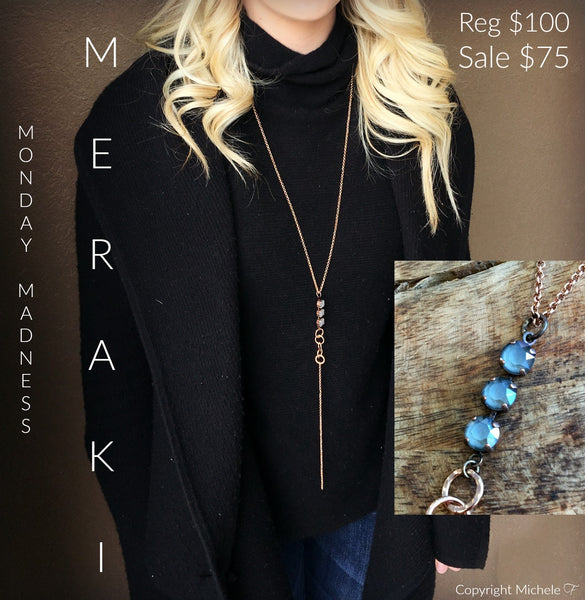 Monday Madness: The Meraki Necklace
