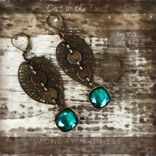 Monday Madness: Out of the Forest Earring