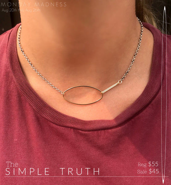 Monday Madness: The Simple Truth Necklace
