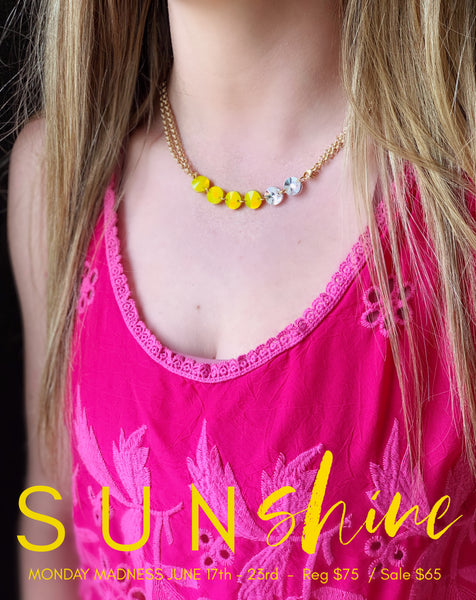 Monday Madness: Sunshine Necklace