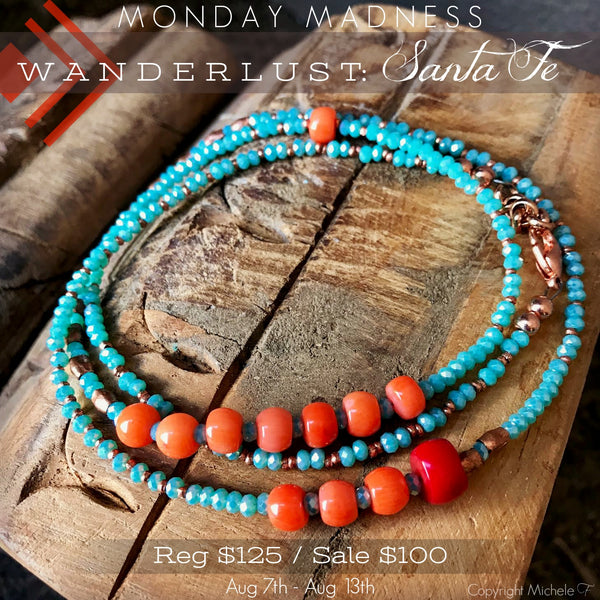 Monday Madness Wanderlust: Santa Fe Necklace