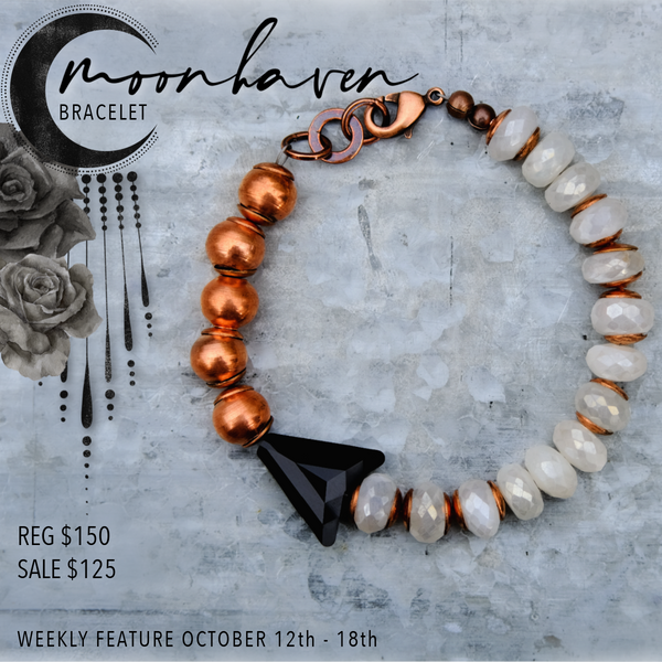 Weekly Feature: Tales of the Night Collection, The Moonhaven Bracelet