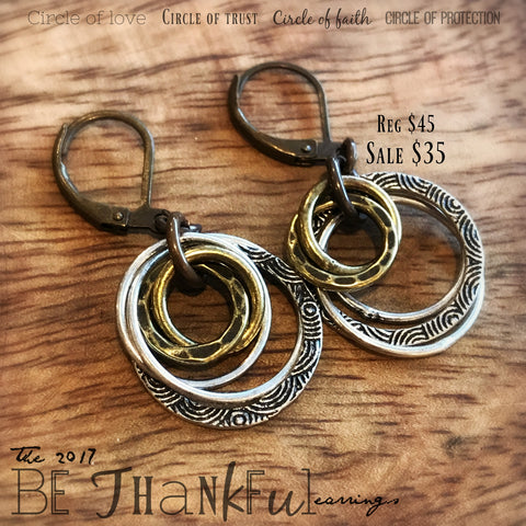Michele F + Monday Madness + The 2017 Be Thankful + Earrings
