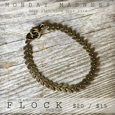 Michele F + Flock + Monday Madness