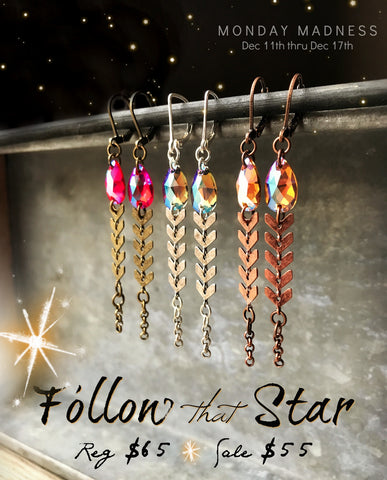 Follow That Star + Monday Madness + Michele F + Swarovski + Wise Men Still Seek Him