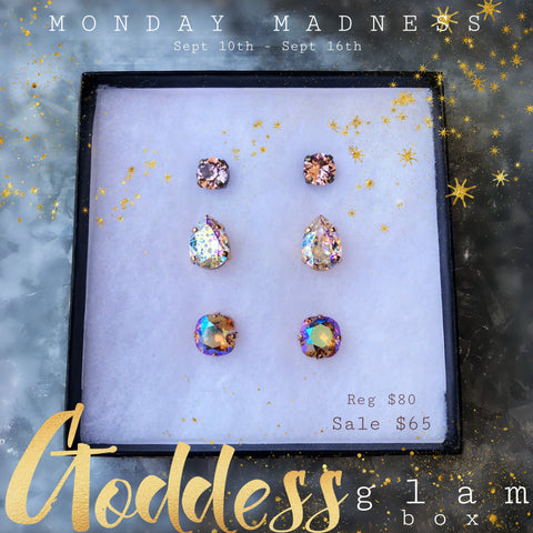 Michele F + Monday Madness + Swarovski + Glam +Goddess
