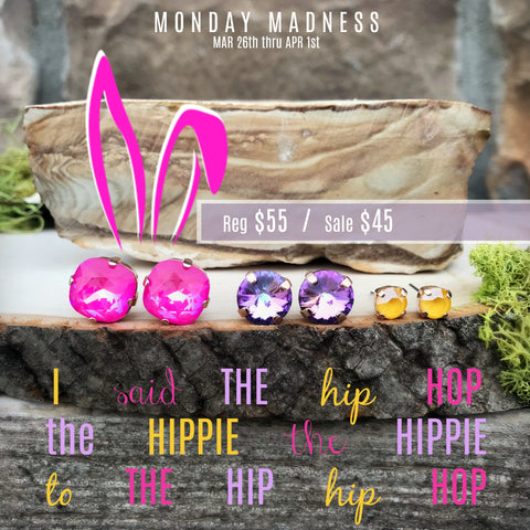 Monday Madness + Hip Hop + Swarovski + Michele F