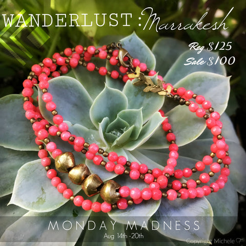 Michele F + Wanderlust + Marrakesh + Monday Madness