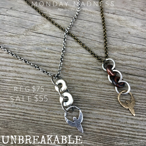 Monday Madness + Unbreakable + Angel of Courage + Michele  F
