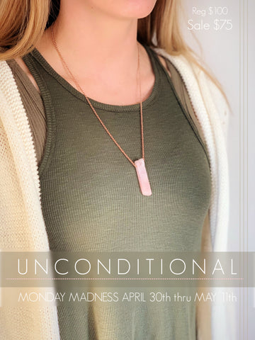 Michele F + Unconditional + Rose Quartz