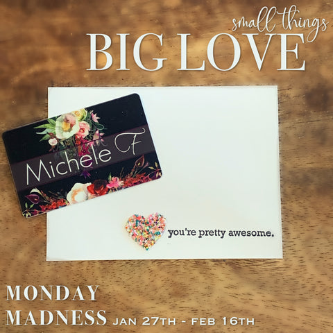 Michele F + Monday Madness + Minot