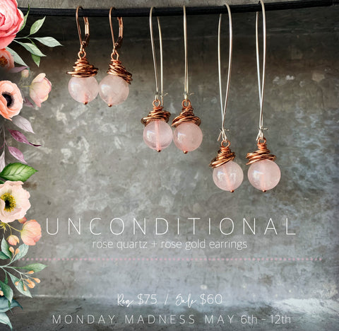 Michele F + Monday Madness + Downtown Minot + Rose Quartz