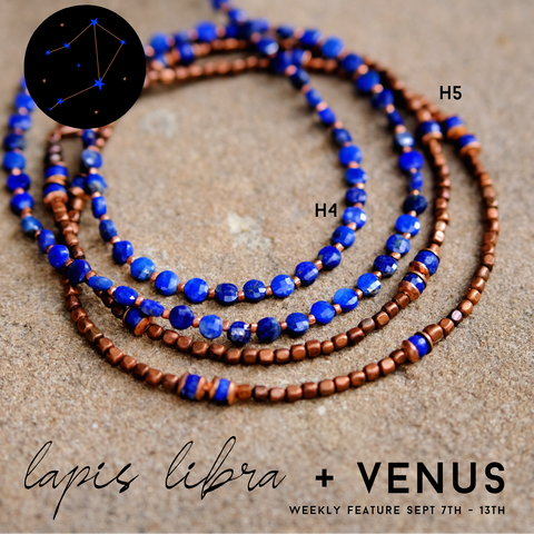 Michele F + Weekly Feature + Lapis + Venus + Libra