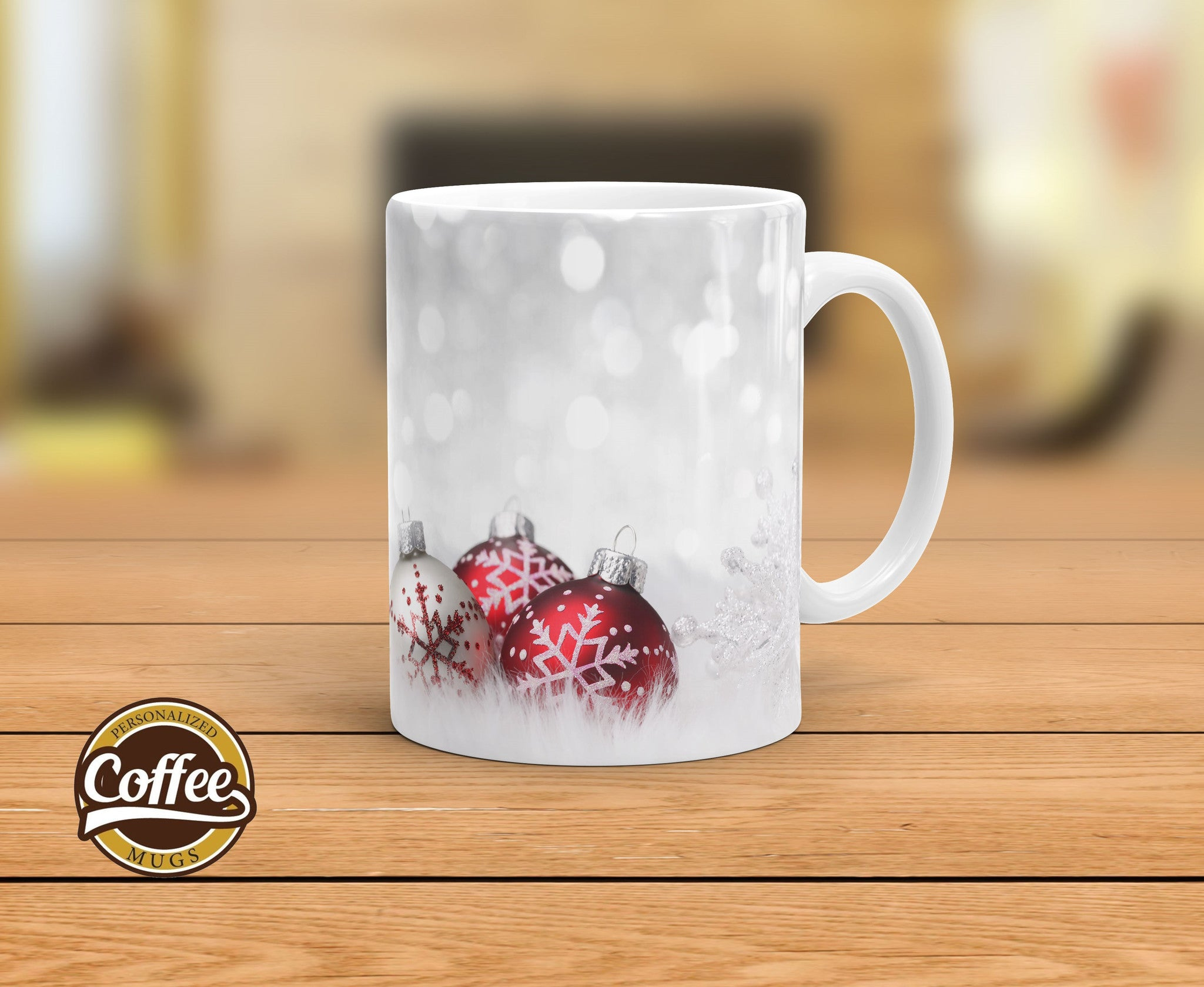 custom christmas mugs